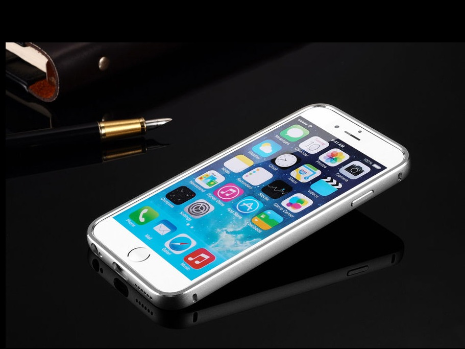 35144d59b6c Funda Bumper Aluminio iPhone 6 Plus - $ 200.00 en Mercado Libre