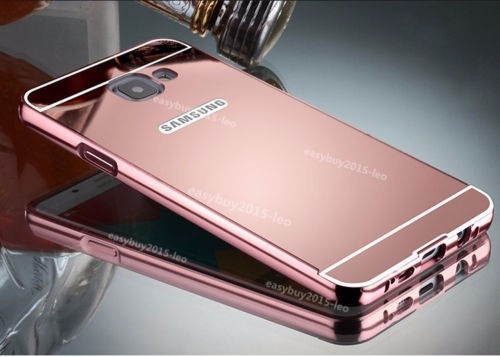 02c84c2c808 Funda Bumper De Aluminio Para Samsung Galaxy A7 2016 Espejo ...