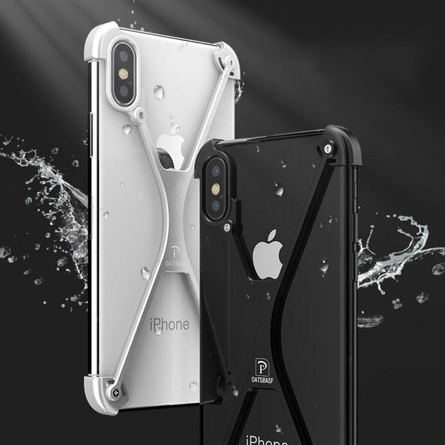 first rate 9c183 d312d Funda Bumper Lujo Aluminio iPhone Xs Max Oatsbasf