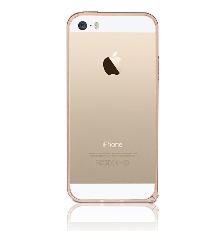 9c98af68d6c Funda Bumper Metalico iPhone 5 5s Color Dorado - $ 339,99 en Mercado ...
