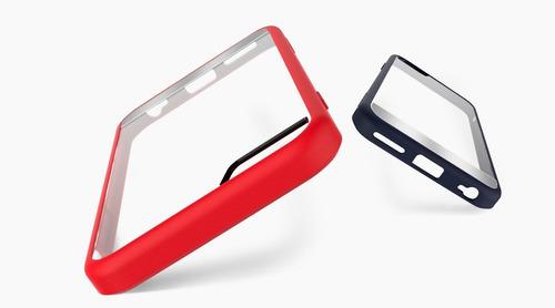 funda bumper orig rock hybrid iphone6 + micadecristal gratis