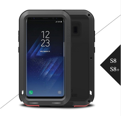 funda bumper survivor case galaxy s8  plus uso rudo