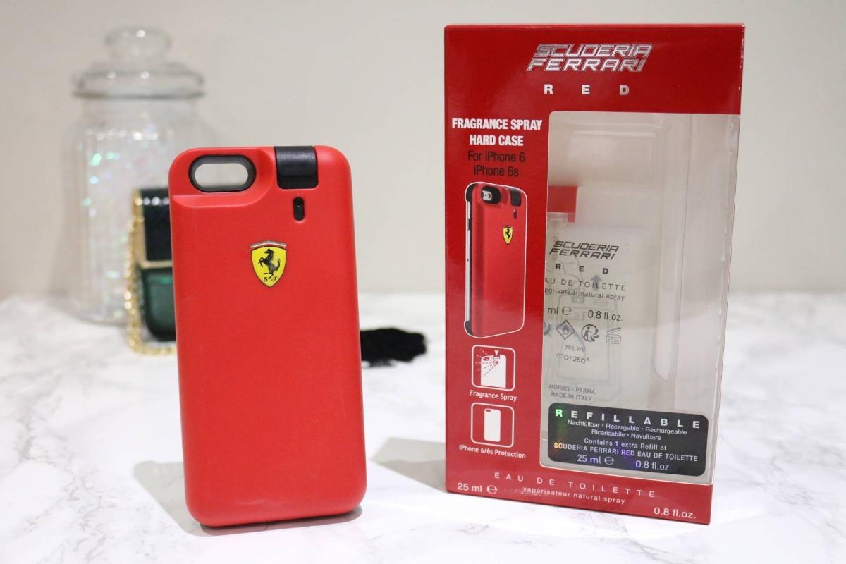 Funda C Perfume Ferrari Original Apple Iphone 6 6s Case 3753