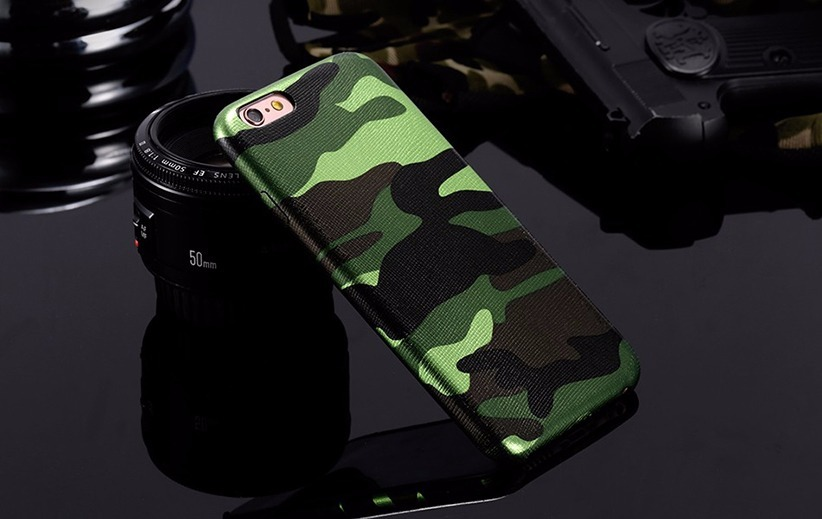 4ebf5038836 funda camo case camuflaje verde negro iphone 6 6s 6 plus 6s+. Cargando zoom.
