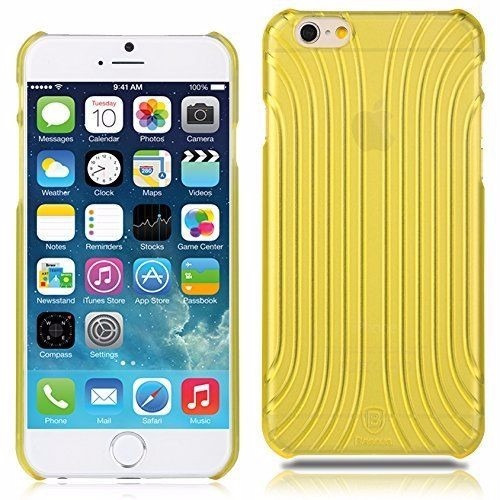 funda carcasa cover baseus apple iphone 6 6s amarillo
