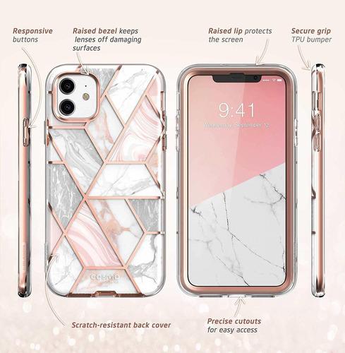 funda carcasa iphone 11 6.1 2019 i-blason cosmo mármol