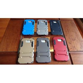 Funda Carcasa Ironman Hibrida Samsung S6 + Lamina Templada