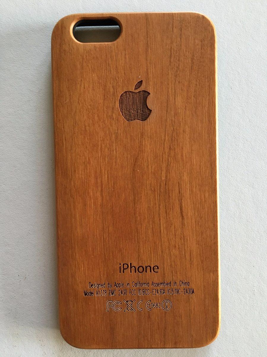 76836af7cec Funda Carcasa Madera iPhone 4 Y 4s - $ 370,00 en Mercado Libre