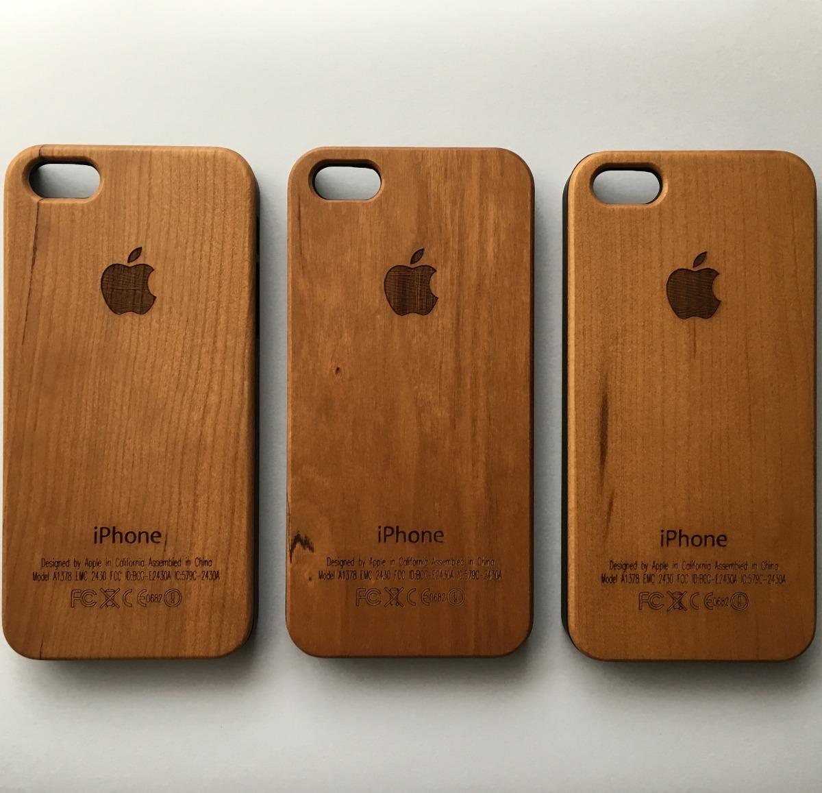 b9392ff65e9 Funda Carcasa Madera iPhone 5 Y 5s - $ 499,00 en Mercado Libre