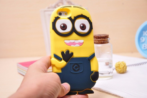 funda / carcasa minion iphone 6 plus
