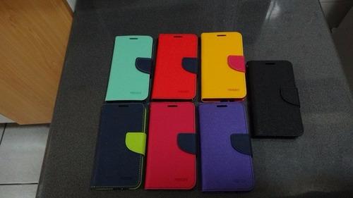 funda carcasa premium tipo billetera samsung a5