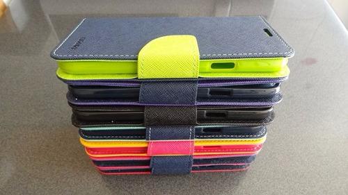funda carcasa premium tipo billetera samsung s5 i9600