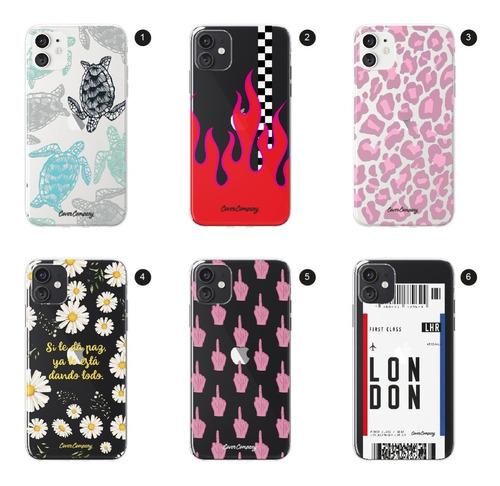 funda carcasa protector celular iphone diseños - cover co