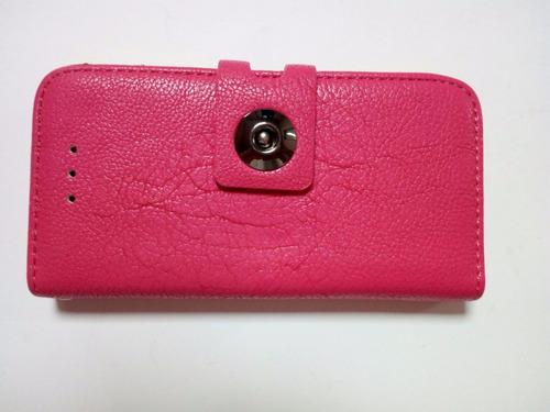 funda carcasa protector iphone 5 5g 5s rosa nar (22) nepa