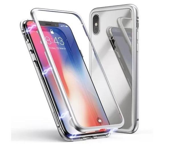 1ef9da6163c Funda Carcasa Protector Magnetico iPhone X, 8plus, 8 Y 7 - $ 499.00 ...