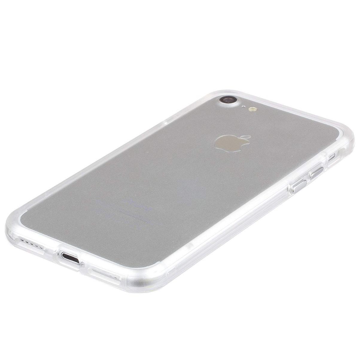 5fb71a61c63 Funda Carcasa Transparente iPhone 7 iPhone 8 - $ 499.00 en Mercado Libre