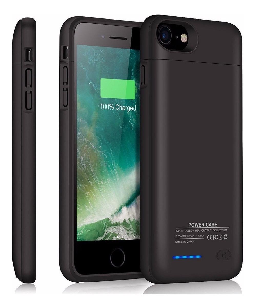 2379e8eac2d funda cargador bateria externa iphone 6 6s 7 8 plus envio ms. Cargando zoom.