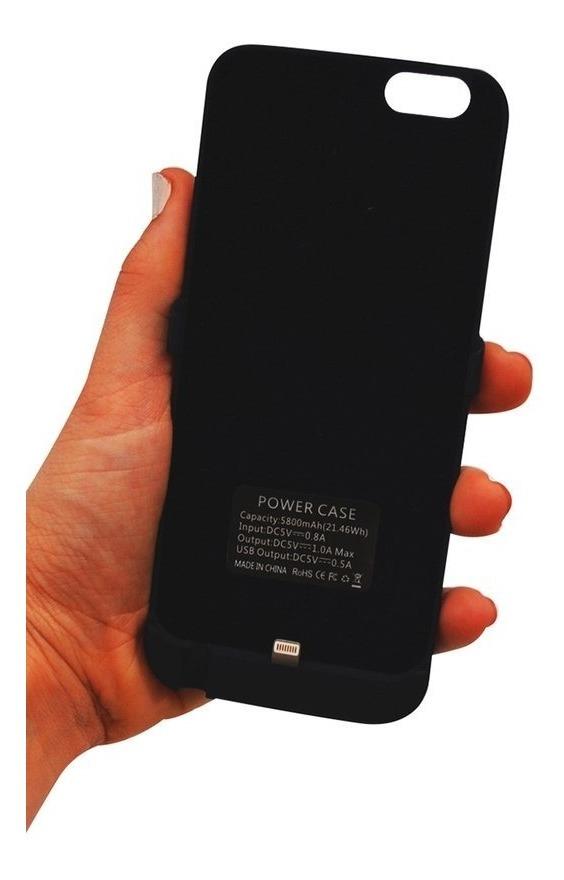 9275e621077 funda cargador iphone 5 5s se bateria portatil + vidrio temp. Cargando zoom.