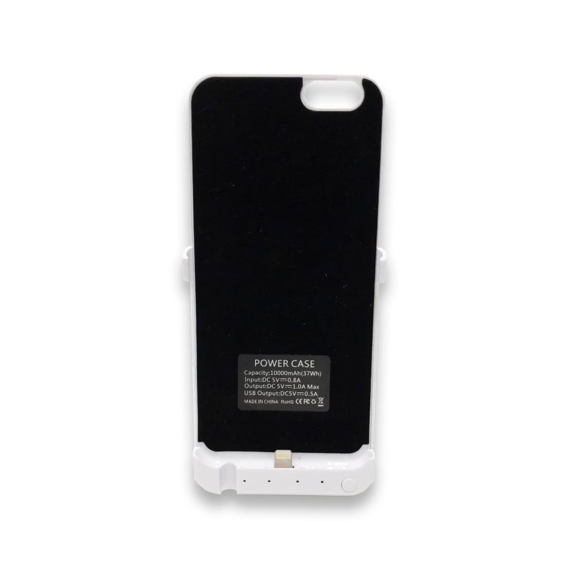91a2d584700 funda cargador iphone 6 y 8 plus blanco+ nano coating liquid. Cargando zoom.