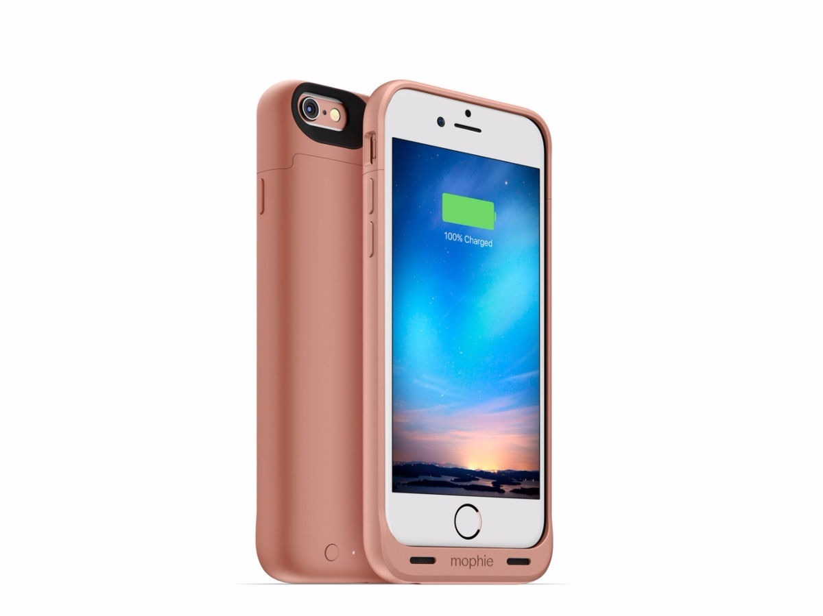 6de44200dcb Funda Cargador Mophie Juice Pack Air Rosa iPhone 7 Plus - $ 2.699,00 ...