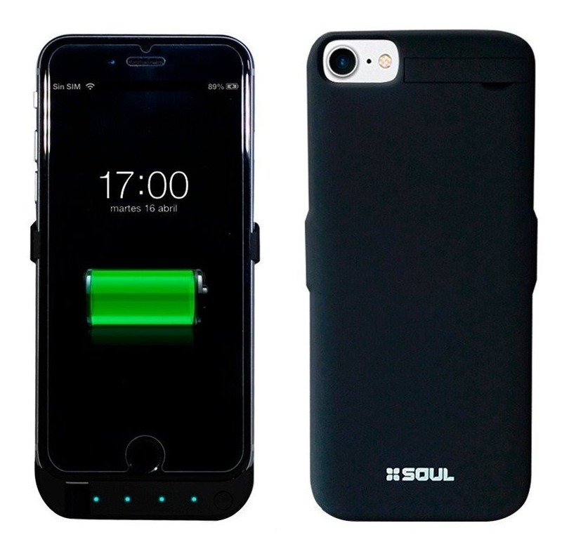 7791500f9f0 Funda Cargador Portátil Power Bateria iPhone 6 6s 7 8 - $ 1.239,00 ...
