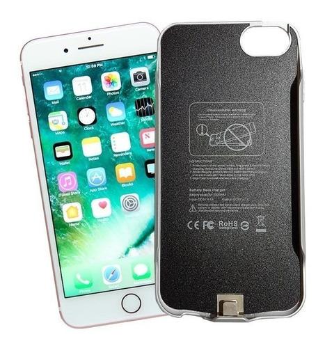 funda cargadora bateria apple iphone 6 6s 7 8 slim wayra