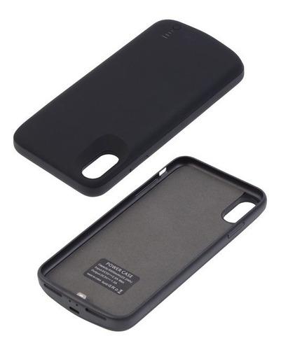 funda cargadora bateria iphone xs max d91c 6000 mah nueva