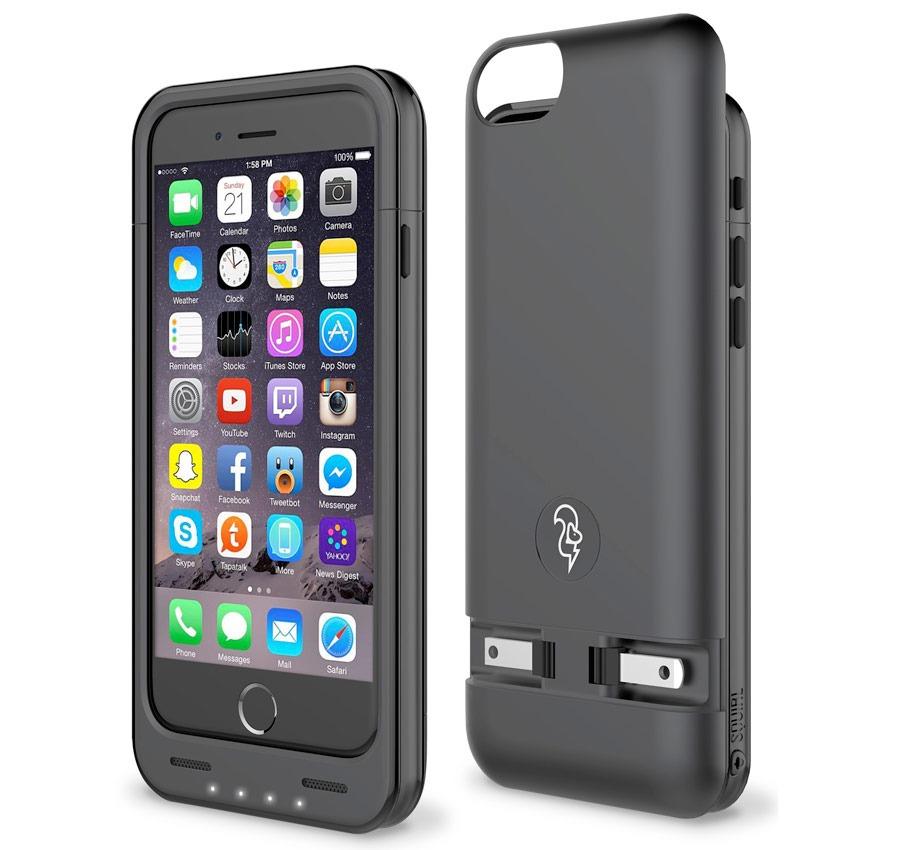 0bcbf91e2c7 Funda Cargadora Con Batería iPhone 6/6s Squirl La Mejor Case ...