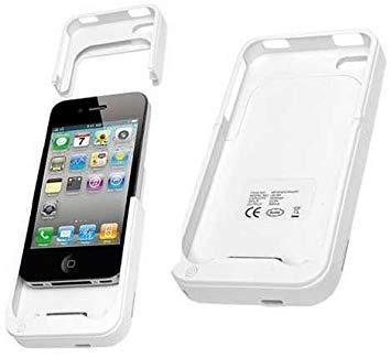 c2581370c4d Funda Cargadora iPhone 4 4s Blanca Celeste Bateria Externa - $ 649 ...
