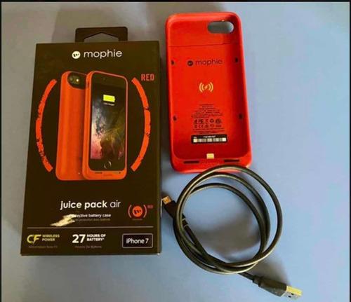 funda cargadora mophie para iphone 7