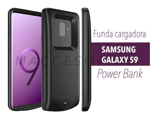 funda cargadora power bank samsung galaxy s9 plus