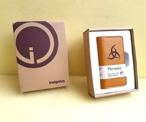 funda cartera de piel genuina para iphone 6. envío gratis