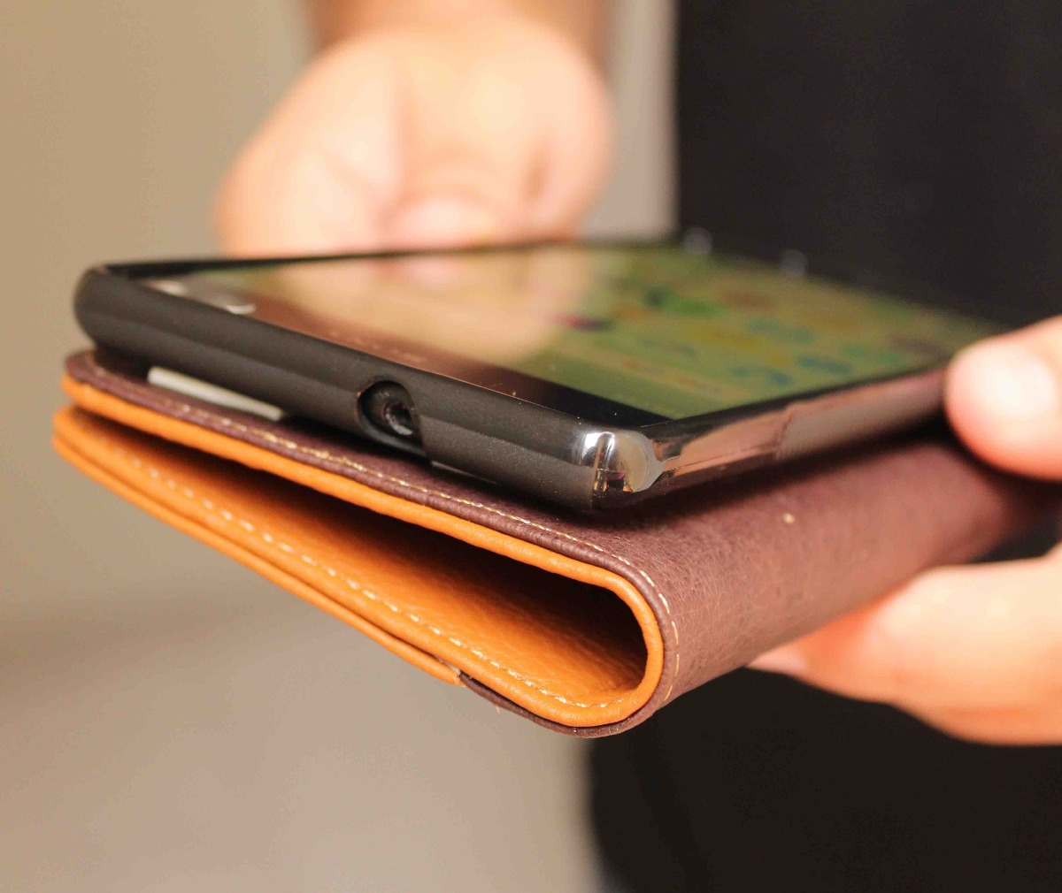 8eacf44aa59 Funda Cartera De Piel Personalizada Nokia 6 - $ 680.00 en Mercado Libre