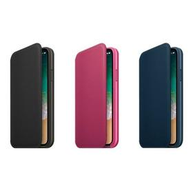 Funda Cartera iPhone X Piel Anti-rayaduras Remax