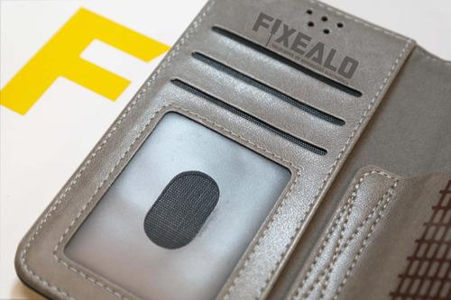 funda cartera universal flip case cuero 4.5 a 4.8 pulgadas