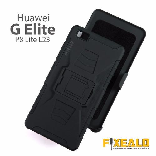 funda case 3 en 1 uso rudo resistente huawei g elite l23