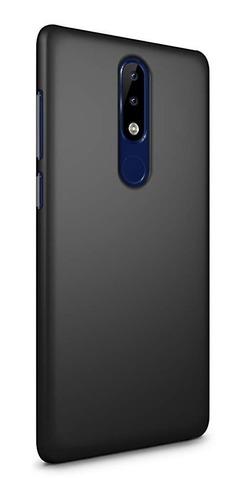 funda case anti golpe soft touch para celular nokia 5.1