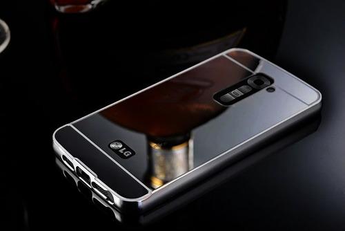 funda case cover metal bumper mirror lg g3 g4 stylus x cam