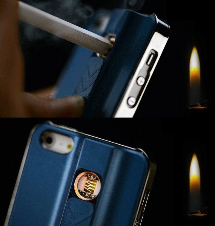3bbbda85c42 Funda Case De Encendedor Para Cigarros iPhone 4/5/se/6/6s/6+ ...