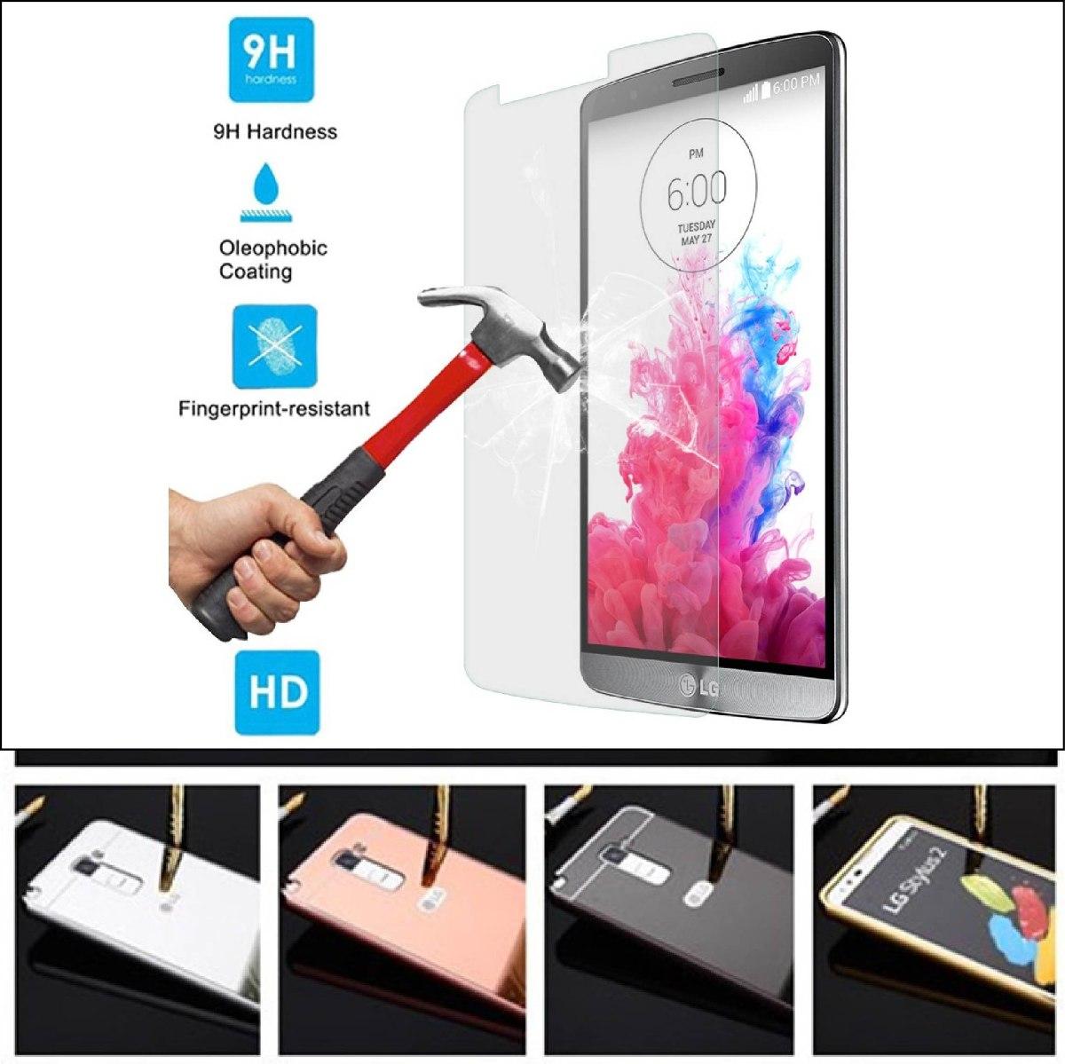 7a822ffc10f Funda Case Espejo Aluminnio Y Cristal Lg G4 Stylus H542 - $ 99.00 en ...