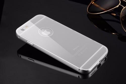funda case espejo bumper aluminio iphone 5 5s 6 6s 6 plus 7