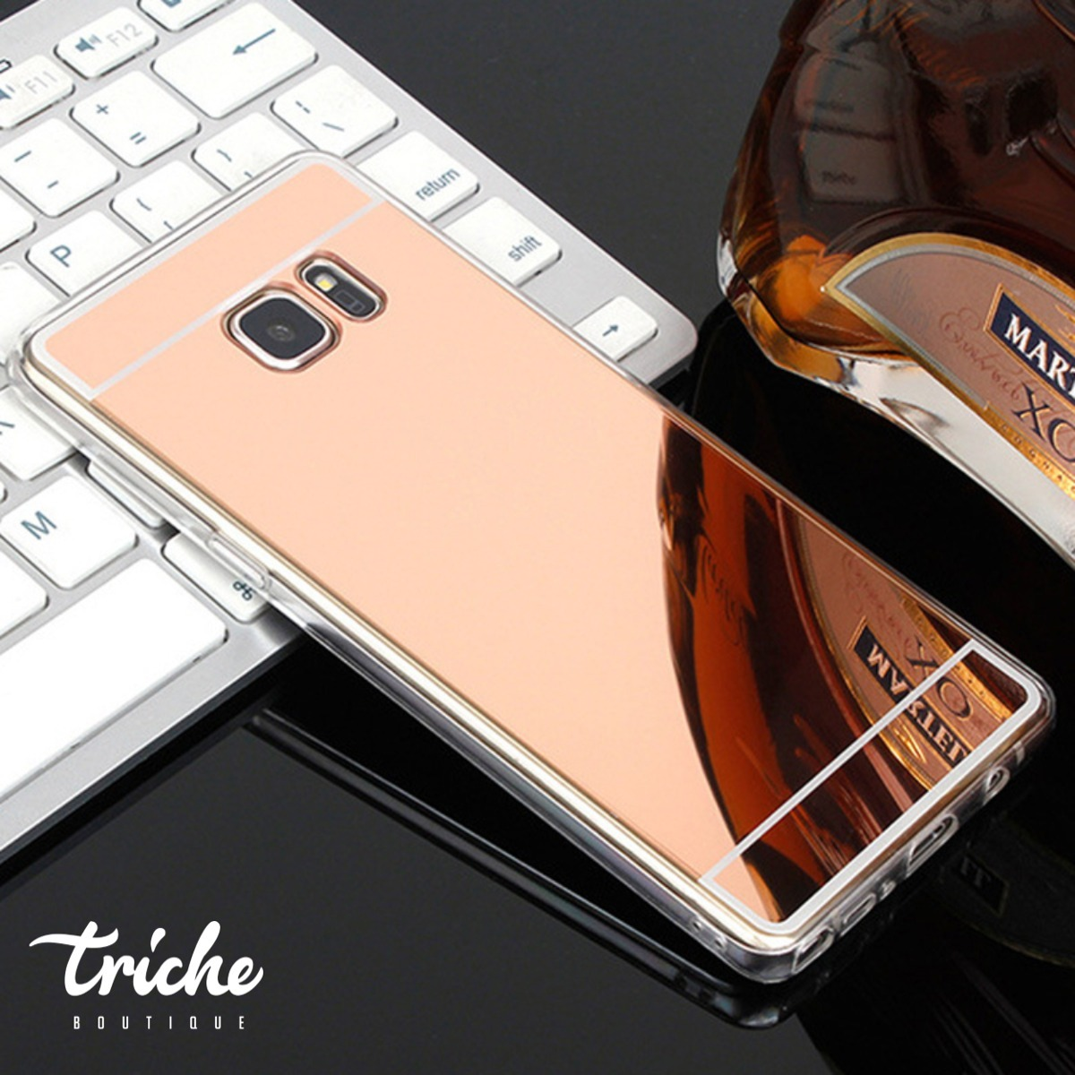fb5e263b75b funda case espejo contorno flexible color galaxy s7 edge. Cargando zoom.