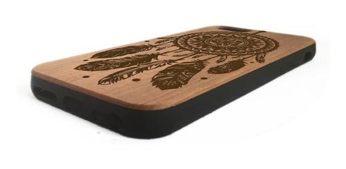 funda case iphone 6 iphone 6s madera protector