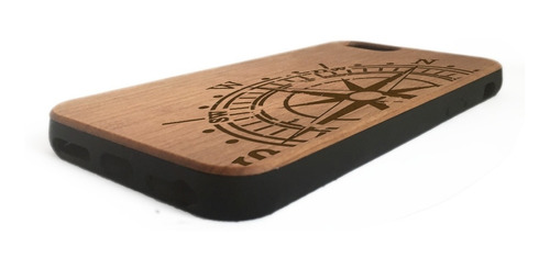 funda case iphone 6 plus madera protector celulares