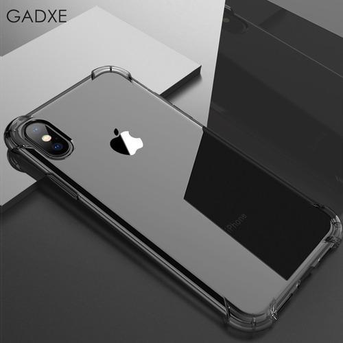funda case iphone 7 8 plus x xs max xr hard super clear