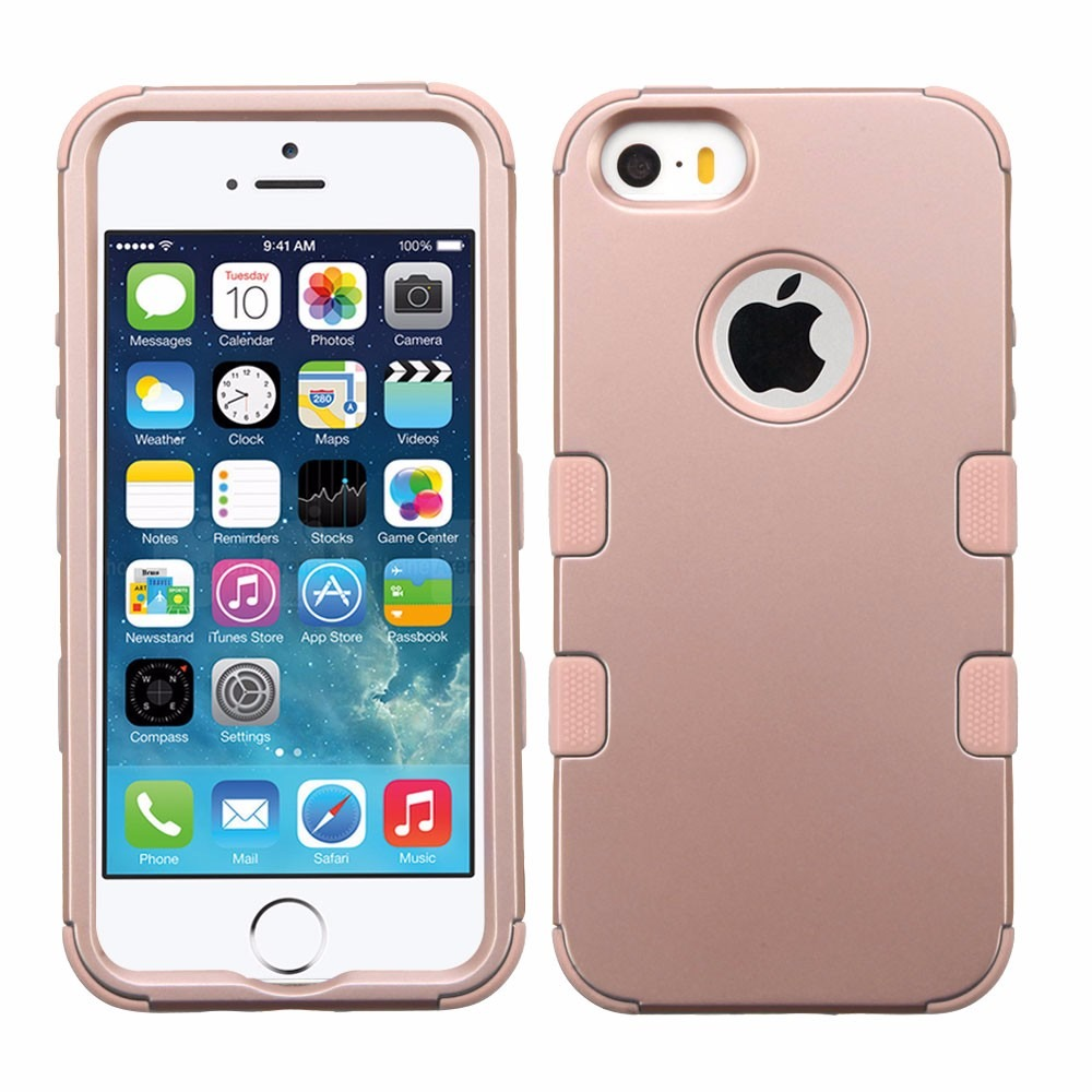 funda case iphone se iphone 5s rose gold envio gratis en mercado libre. Black Bedroom Furniture Sets. Home Design Ideas