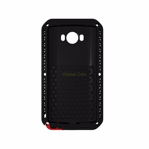 funda case love mei lg v10 protector genuino metal c/ vidrio