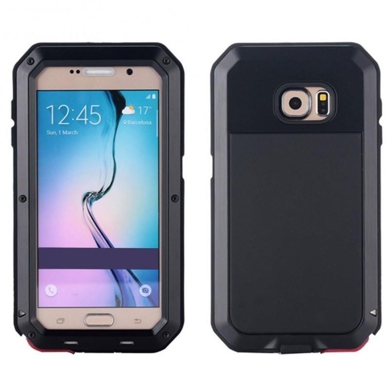 new style 6bb8d 88251 Funda / Case Lunatik Negro Samsung S7 Edge
