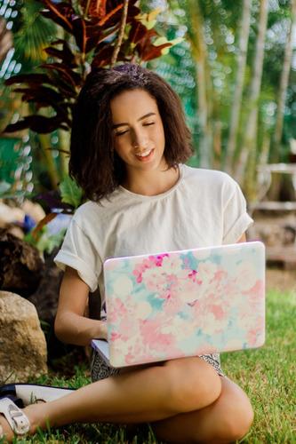 funda case macbook air 13,3 a1466 diseños + teclado + mica