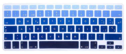 funda case macbook pro 13,3 a1278 diseños + teclado + mica